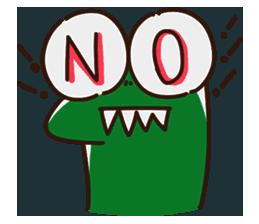 Big Eyed Frog messages sticker-8