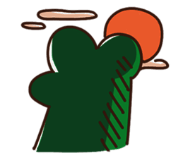 Big Eyed Frog messages sticker-4