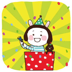 Cool girl Rabbitami messages sticker-4