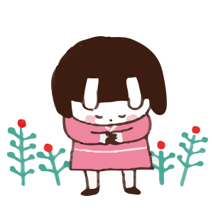 Cool girl Rabbitami messages sticker-3