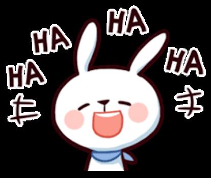 Cool Little Rabbit messages sticker-9