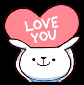 Cool Little Rabbit messages sticker-10