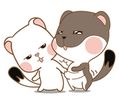 Cat with Love messages sticker-1