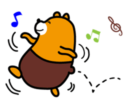 Bimbim Bear messages sticker-6