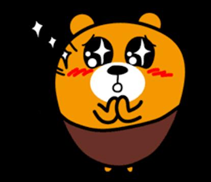 Bimbim Bear messages sticker-9