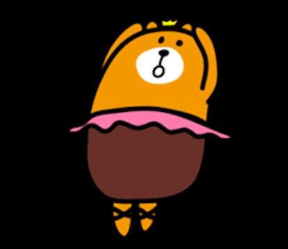 Bimbim Bear messages sticker-11