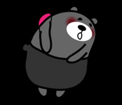 Bimbim Bear messages sticker-3
