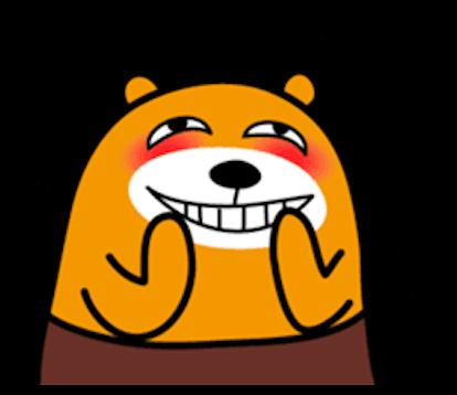 Bimbim Bear messages sticker-5