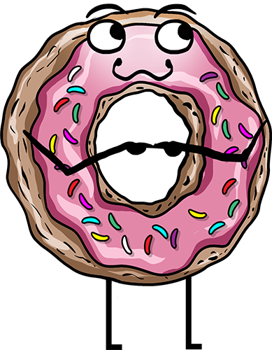 Donuts - Cute stickers messages sticker-3