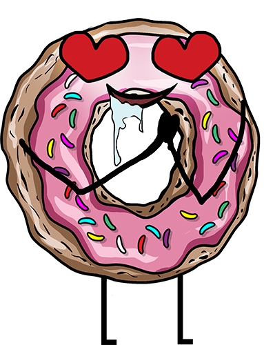 Donuts - Cute stickers messages sticker-10