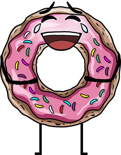 Donuts - Cute stickers messages sticker-9