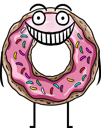 Donuts - Cute stickers messages sticker-7