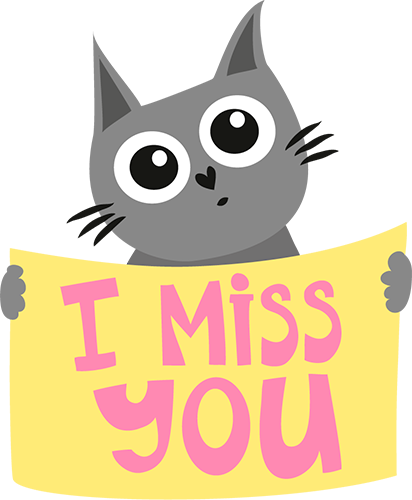 Cats - Cute stickers messages sticker-8