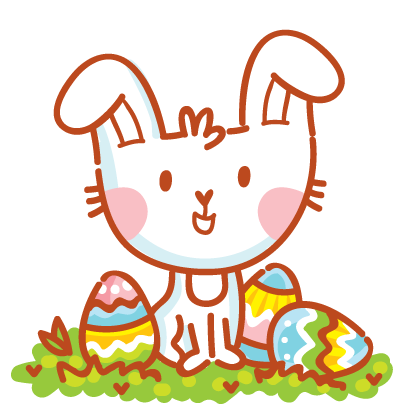 Hoppy Easter! messages sticker-0