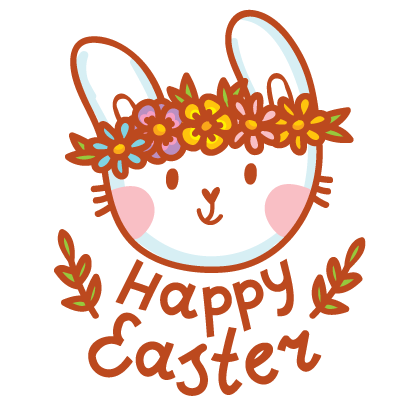 Hoppy Easter! messages sticker-1