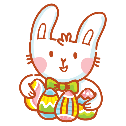 Hoppy Easter! messages sticker-2