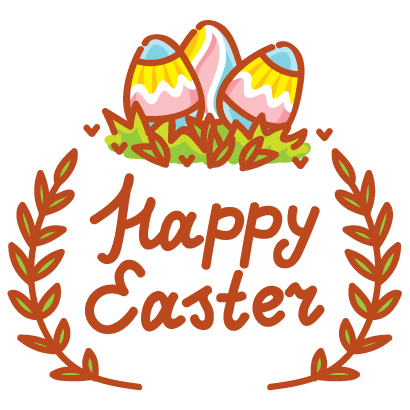 Hoppy Easter! messages sticker-7