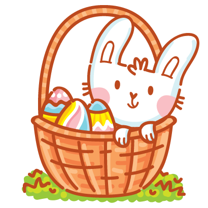 Hoppy Easter! messages sticker-4