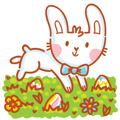 Hoppy Easter! messages sticker-6