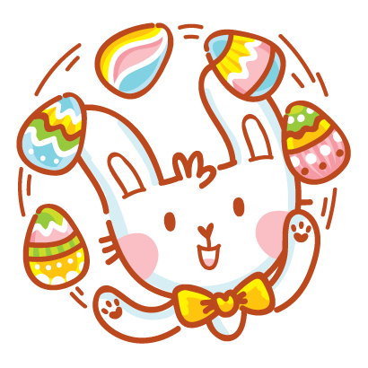 Hoppy Easter! messages sticker-11
