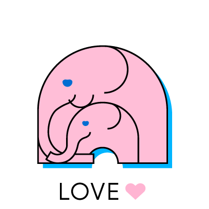 母の日ステッカー messages sticker-3