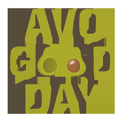 Avocado Stickers messages sticker-1