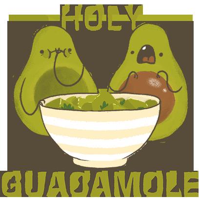Avocado Stickers messages sticker-5