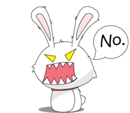 Vulnerable Bunny Stickers messages sticker-5