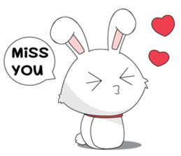 Vulnerable Bunny Stickers messages sticker-2
