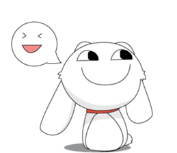 Vulnerable Bunny Stickers messages sticker-7