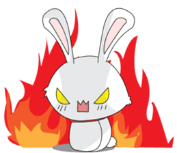 Vulnerable Bunny Stickers messages sticker-9