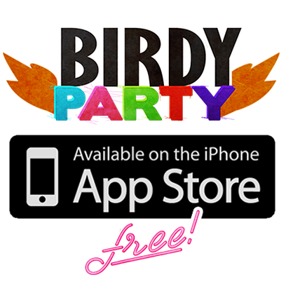 Birdy Party Stickers messages sticker-7
