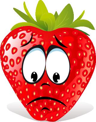 Strawberry SP emoji messages sticker-1