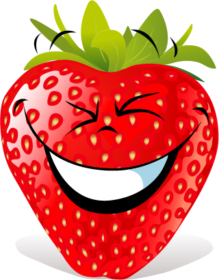 Strawberry SP emoji messages sticker-7