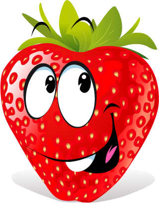 Strawberry SP emoji messages sticker-6