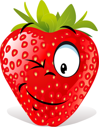 Strawberry SP emoji messages sticker-8