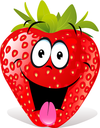 Strawberry SP emoji messages sticker-0