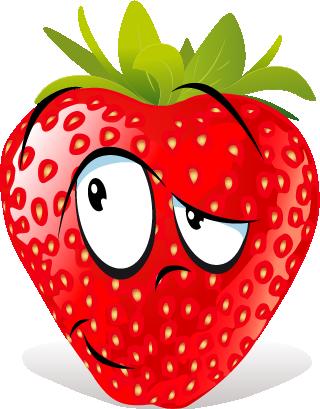 Strawberry SP emoji messages sticker-5