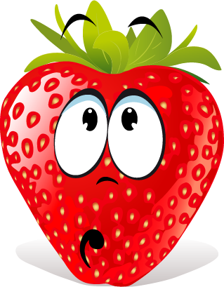 Strawberry SP emoji messages sticker-4