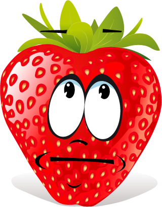 Strawberry SP emoji messages sticker-2