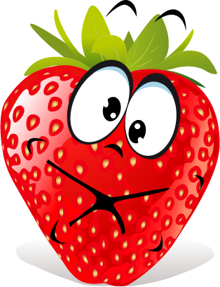 Strawberry SP emoji messages sticker-10