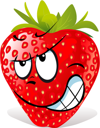 Strawberry SP emoji messages sticker-11