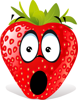 Strawberry SP emoji messages sticker-9