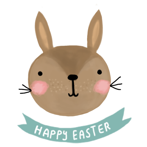 Cute Easter Wishes messages sticker-0