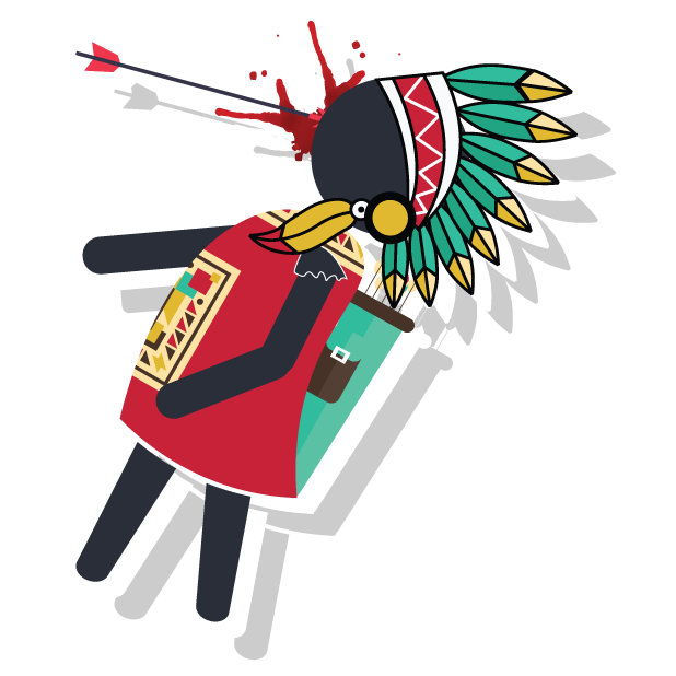 Archer.io: Tale of Bow & Arrow messages sticker-1