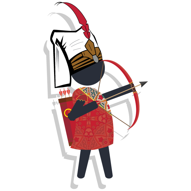 Archer.io: Tale of Bow & Arrow messages sticker-3