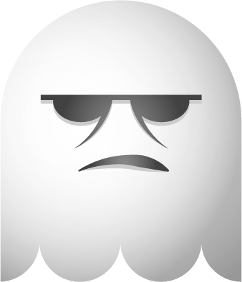 Ghosts SP emoji messages sticker-11