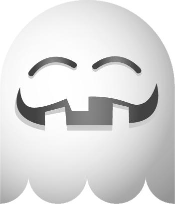 Ghosts SP emoji messages sticker-8