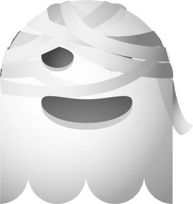 Ghosts SP emoji messages sticker-7