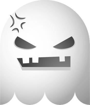 Ghosts SP emoji messages sticker-3